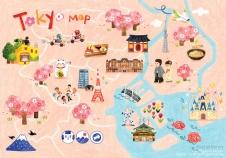 Tokyo Tavel Map