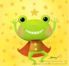 신난다 개구리